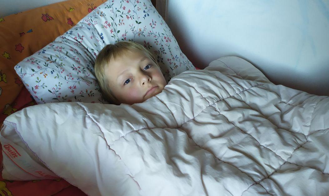 autista v posteli